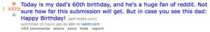 Birthday Wishes On Reddit Attract Thousands of Supporters